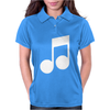 MUSIC NOTE Womens Polo