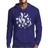 Music Notes Mens Hoodie