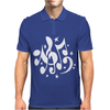 Music Notes Mens Polo