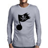 Music Pirate Mens Long Sleeve T-Shirt