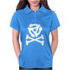 music skull and crossbones Womens Polo