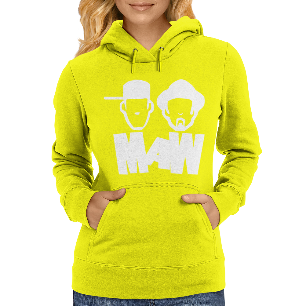 Musica House Elettronica Masters At Work Womens Hoodie