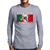 Musica Mexicana, Escrito Con Sangre Mens Long Sleeve T-Shirt
