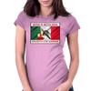 Musica Mexicana, Escrito Con Sangre Womens Fitted T-Shirt