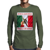 Musica Ranchera, Escroto Con Sangre Mens Long Sleeve T-Shirt