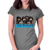 musical dog Womens Fitted T-Shirt