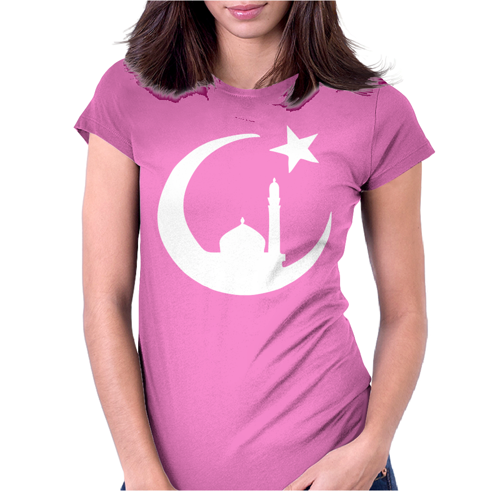 MUSLIM ISLAM MOSQUE Womens Fitted T-Shirt