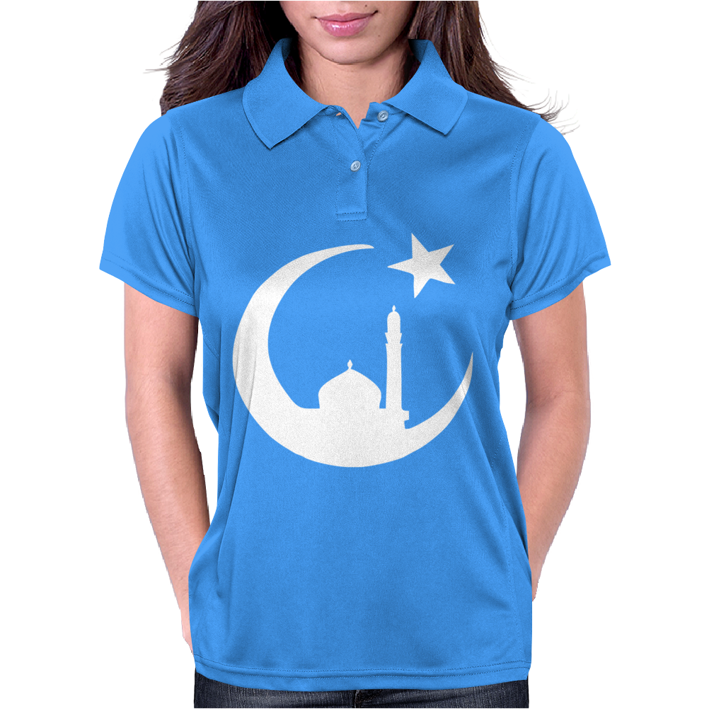 MUSLIM ISLAM MOSQUE Womens Polo