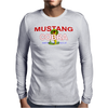 Mustang Cobra Muscle Car Mens Long Sleeve T-Shirt