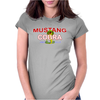 Mustang Cobra Muscle Car Womens Fitted T-Shirt