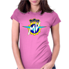 Mv Agusta Style Motorcycle Womens Fitted T-Shirt