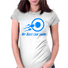My Boys Can Swim Womens Fitted T-Shirt