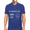 My Bucket List Mens Polo