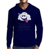 My Cloud Is Higher Than Yours Mens Hoodie