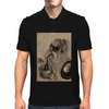 my fantasey art of warcraft dwarf Mens Polo