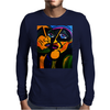 MY FAVORITE MARTIANS  PICASSO BY NORA Mens Long Sleeve T-Shirt