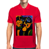 MY FAVORITE MARTIANS  PICASSO BY NORA Mens Polo