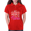 My Favorite People Call Me Nana Cute Womens Polo