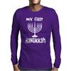 My First Hanukkah Mens Long Sleeve T-Shirt