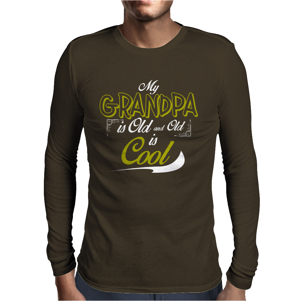My Grandfather is the Coolest. Mens Long Sleeve T-Shirt