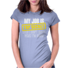 My Job Is Top Secret. Womens Fitted T-Shirt