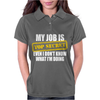 My Job Is Top Secret Womens Polo