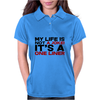 My life is not a Joke! It's a one liner Womens Polo