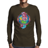 My Little Zombie Mermaid Mens Long Sleeve T-Shirt
