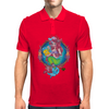 My Little Zombie Mermaid Mens Polo