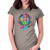 My Little Zombie Mermaid Womens Fitted T-Shirt
