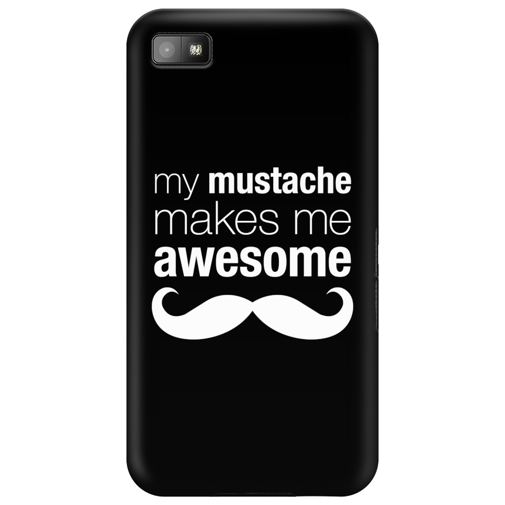 My Mustache Makes Me Awesome Phone Case