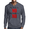 MY NAME IS NO Mens Hoodie