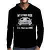 My Other Ride Is A Time Machine Mens Hoodie
