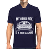My Other Ride Is A Time Machine Mens Polo