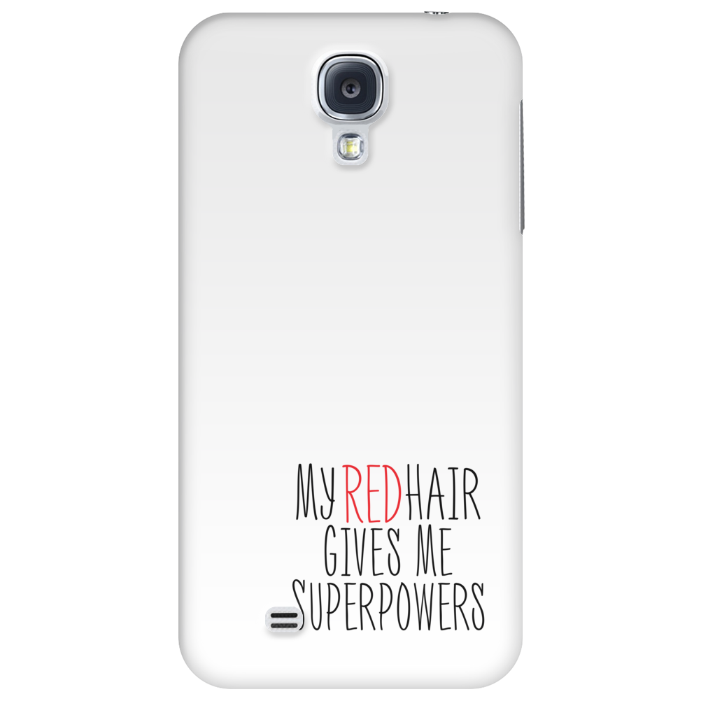 My Red Hair Gives Me Superpowers Phone Case
