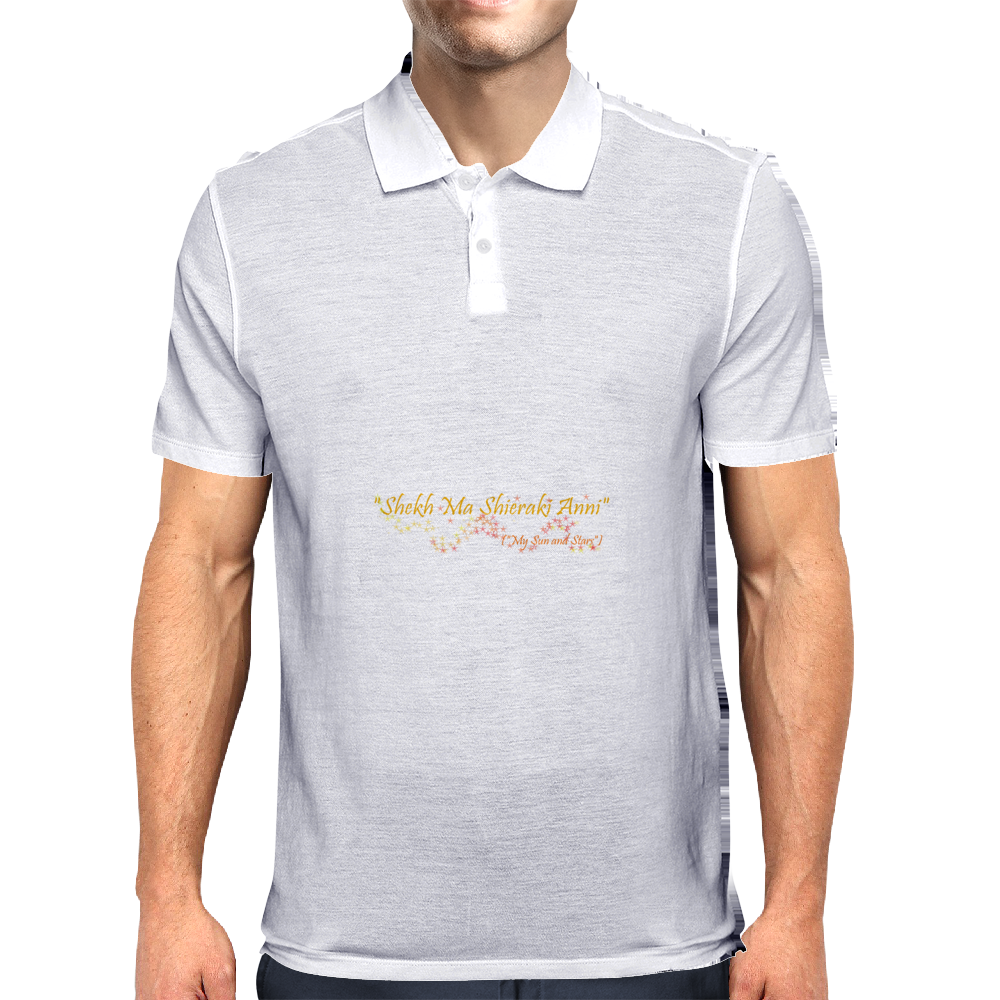 My sun and stars Mens Polo