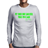 My XBOX ONE Can Kick Your PS4's Ass butt game Mens Long Sleeve T-Shirt