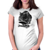 Myghty the Skater Mouse Womens Fitted T-Shirt