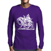 Mystic Elephant Mens Long Sleeve T-Shirt