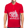 Mystic Elephant Mens Polo