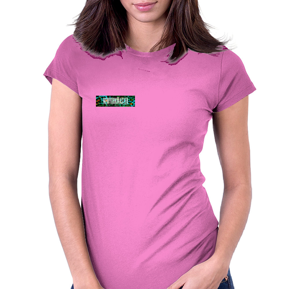 N E W Y O R K  M A S T E R  - Benjamin Lawton  #PAN designed by Teon Blake    Womens Fitted T-Shirt