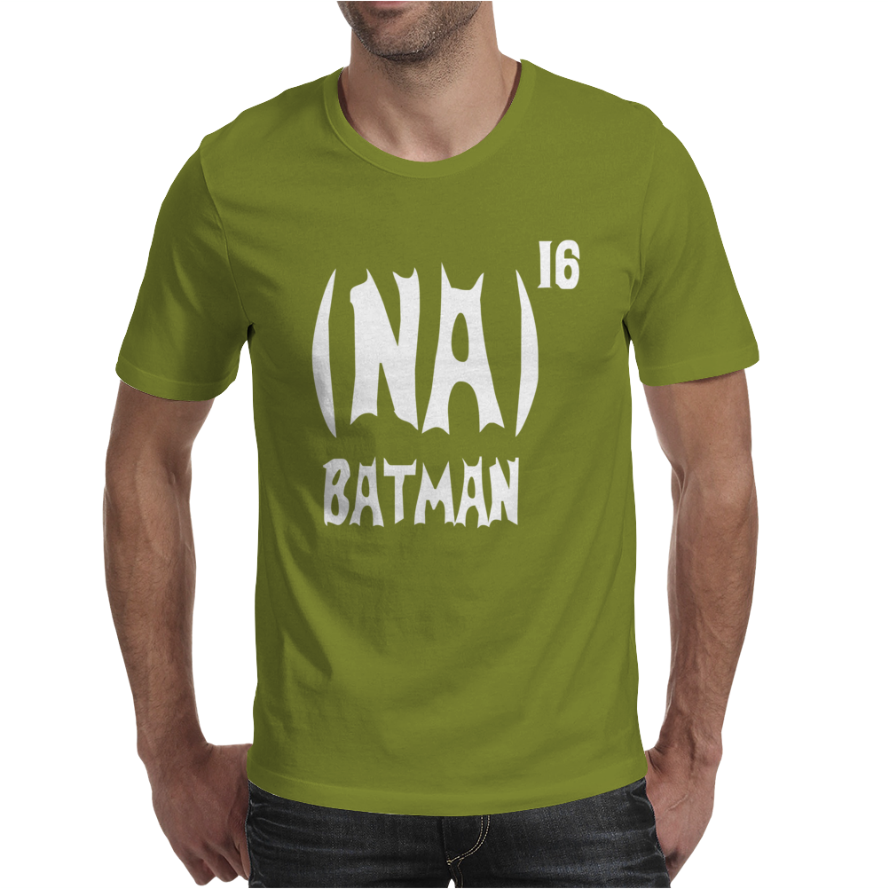 '(Na) 16 Batman' Funny mens Funny Movie Mens T-Shirt