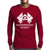 Nakatomi Plaza Security Mens Long Sleeve T-Shirt