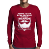 Name For People Without Beards Women Mens Long Sleeve T-Shirt