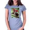Napoleon Bonaparte Stormtrooper Funny Retro Womens Fitted T-Shirt