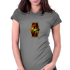 Naruto Chidori Rasengan Womens Fitted T-Shirt