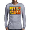 Naruto evolution Mens Long Sleeve T-Shirt