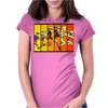 Naruto evolution Womens Fitted T-Shirt