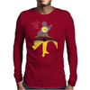 Naruto minimalist Mens Long Sleeve T-Shirt