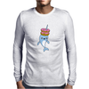 Narwhal Donuts Kawaii Cute Unicorn Harajuku Sweet Cool Awesome Mens Long Sleeve T-Shirt